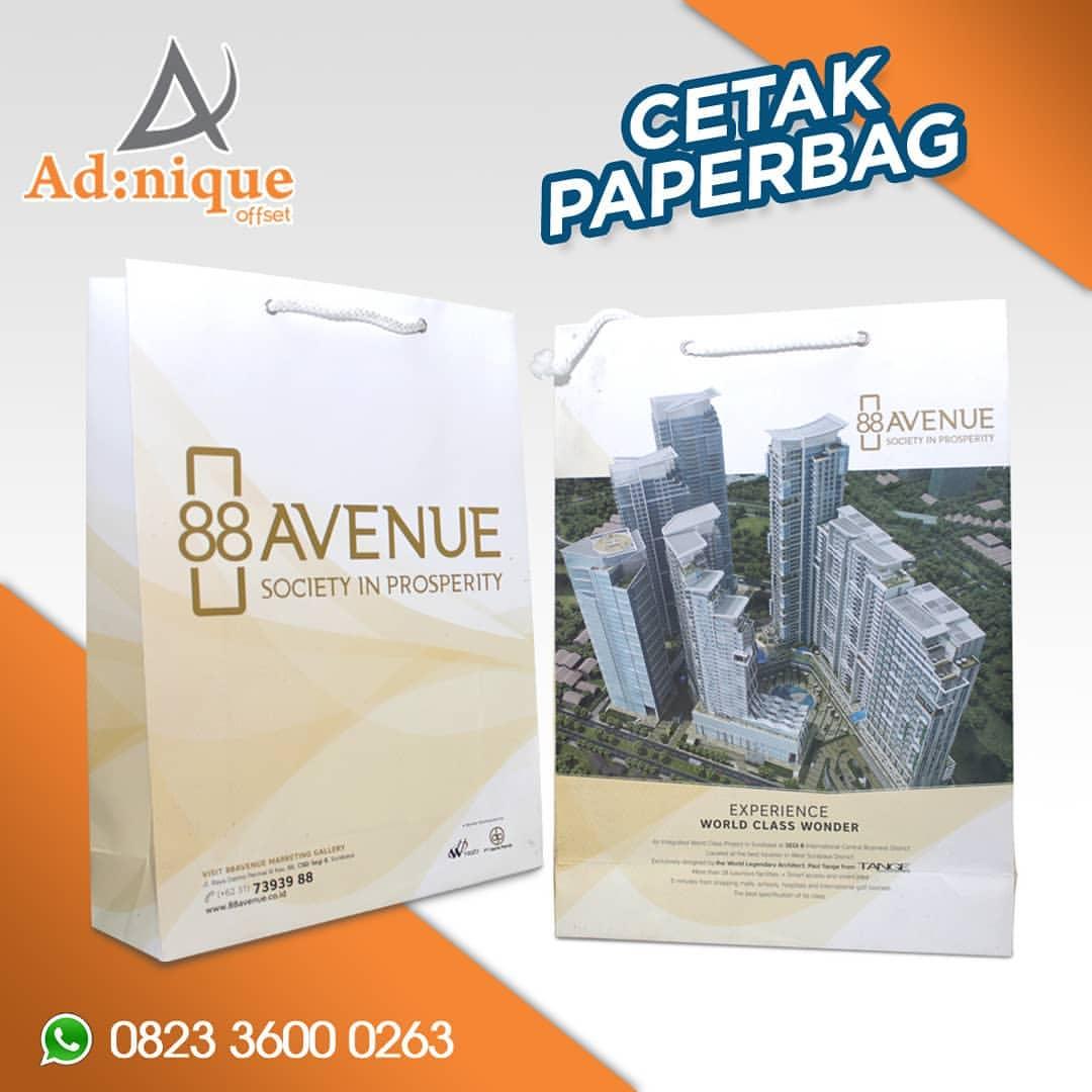 88 avenue paperbag
